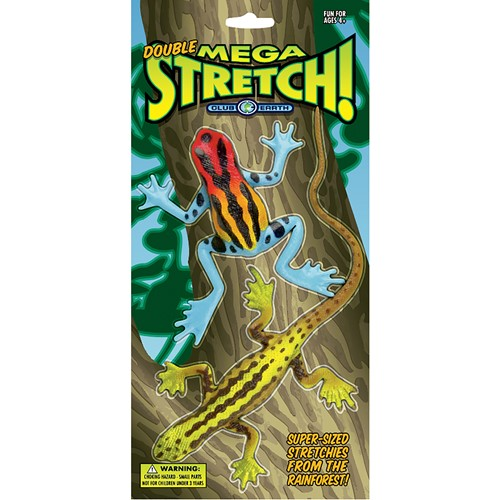 Club Earth Stretchy Frogs Toy